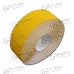 Aluminium Insert Silicone Carbide Tape (50mm x 20m Roll) Yellow roll