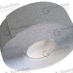 Aluminium Insert Silicone Carbide Tape (70mm x 20m Roll) Medium Grey roll