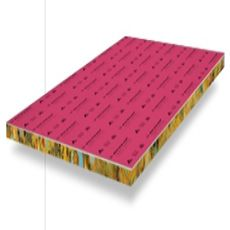Dunlop Government Red Underlay 27m2 Roll