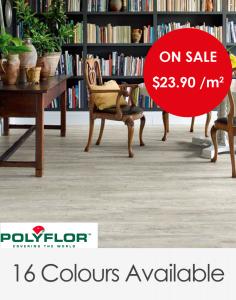 Polyflor Affinity Vinyl Plank Range 1219.2mm x 184.2mm x 2mm