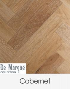 Preference Floors De Marque Herringbone Cabernet 120mm x 600mm x 15mm