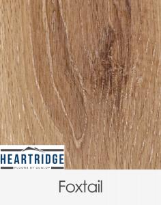 Dunlop Flooring Heartridge Woodland Oak Foxtail Brushed 1900mm x 190mm x 14mm