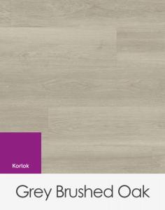 Karndean Korlok Grey Brushed Oak 1420mm x 225mm x 6.5mm