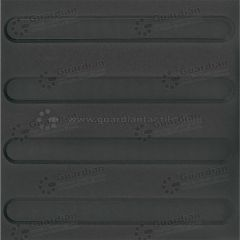 Directional Tactile Black 300mm x 300mm