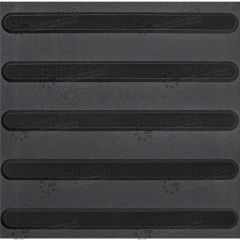 Directional Tactile Black 400mm x 400mm