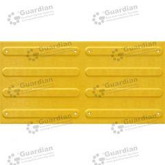 Directional Tactile FRP 300x600 Yellow