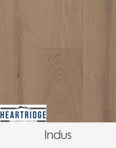 Dunlop Flooring Heartridge Riviera Oak Indus 1900mm x 190mm x 14mm