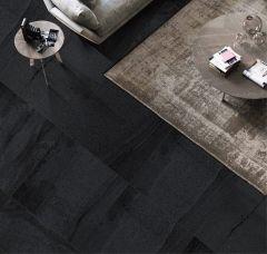 Stream Black 450 x 450 Matt & External Tiles