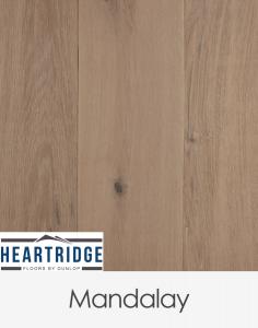 Dunlop Flooring Heartridge Riviera Oak Mandalay 1900mm x 190mm x 14mm