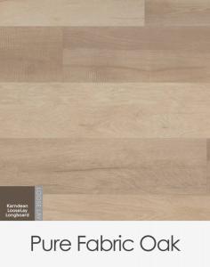 Karndean Looselay Longboard Pure Fabric Oak 1500mm x 250mm x 4.5mm