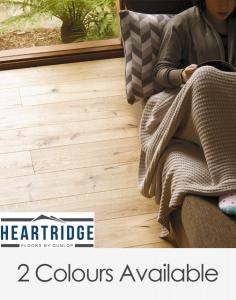 Dunlop Flooring Heartridge Rustic Oak Range 900mm x 190mm x 14mm