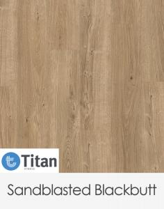 Premium Floors Titan Hybrid Sandblasted Blackbutt 1500mm x 180mm x 6mm