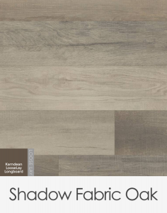 Karndean Looselay Longboard Shadow Fabric Oak 1500mm x 250mm x 4.5mm