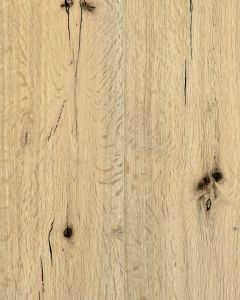 Airstep Reclaimed Wild Oak White Lacquered Natural Oak 1900mm x 190mm x 14mm