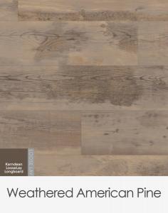 Karndean Looselay Longboard Weathered American Pine 1500mm x 250mm x 4.5mm
