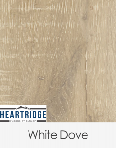 Dunlop Flooring Heartridge Vintage Oak White Dove Distressed 1900mm x 190mm x 14mm