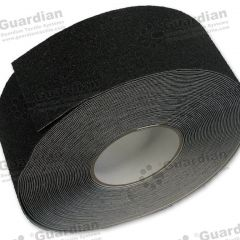 Aluminium Insert Silicone Carbide Tape (60mm) Black per metre