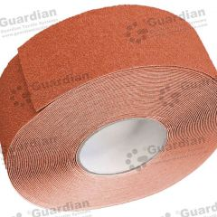 Aluminium Insert Silicone Carbide Tape (60mm) Terracotta per metre