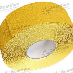 Aluminium Insert Silicone Carbide Tape (60mm) Yellow per metre