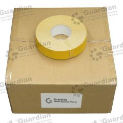 Silicone Carbide Tape Yellow 50mm x 20m x 8 rolls