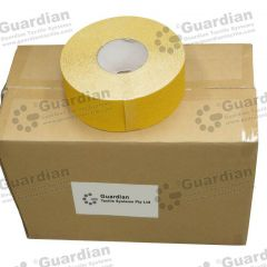 Silicone Carbide Tape Yellow 70mm x 20m x 8 rolls