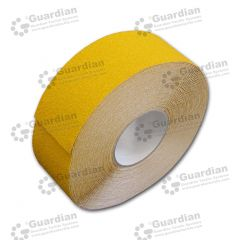 Aluminium Insert Silicone Carbide Tape (50mm x 20m Roll) Yellow roll