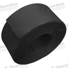 Polyurethane Tape 60mm - Black per metre