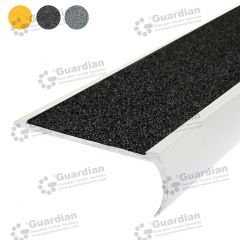 Stair Nosing Aluminium Bullnose Black Carbide