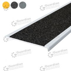 Stair Nosing Aluminium Slimline Black Carbide
