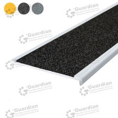 Stair Nosing Aluminium Recessed Black Carbide