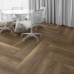 Interface Textured Woodgrains Ash Walnut 250mm x 1000mm x 4.5mm