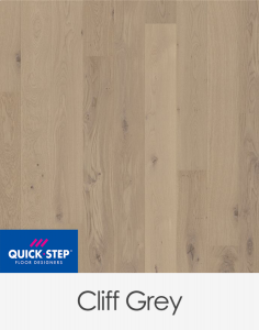 Quick Step Compact Engineered Timber Cliff Grey - 1820mm x 145mm x 12.5mm