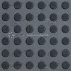 Warning Tactile Black 300mm x 300mm