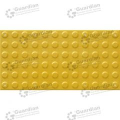 Warning Tactile FRP 300x600 Yellow