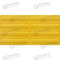 Directional Tactile FRP 300x600 Yellow