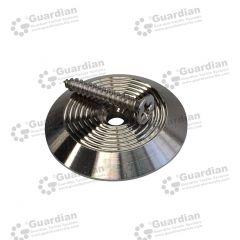 Discrete Warning Tactile 316 Tactile Stud w plug & screw 6 x 12mm stem