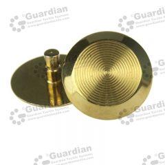 Discrete Brass Tactile Stud 6 x 15mm stem