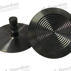 Discrete 316 Tactile Stud w Black PVD Coating 6 x 15mm stem